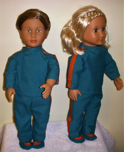 homemade 18 inch doll clothes that will fit American Girl Doll or My Life Doll