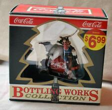 """Coca-Cola Bottling Works Christmas Ornament /""""Power Drive/"""" New In Box"""
