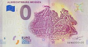 BILLET-0-EURO-ALBRECHTSBURG-MEISSEN-BILLET-FAUTE-ALLEMAGNE-2018-NUMERO-400