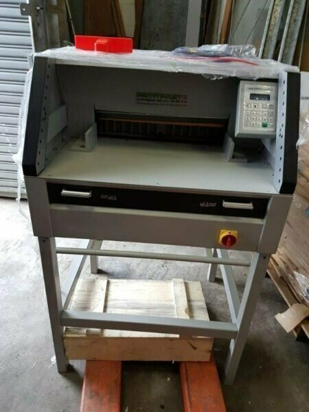 Printing Guillotine NEW ON Offer PF490EPC Programmed 220V BEST BUY