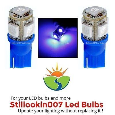 2 - Low Voltage Landscape T5 LED bulbs BLUE 5LED's per bulb