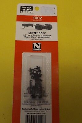 1002 N Scale Micro-Train  BETTENDORF LONG EXTENSION truck #003-02-024