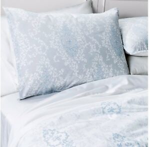 Amazing Details About Shabby Chic Damask Light Blue Grey White Twin 2 Piece Comforter Set Download Free Architecture Designs Grimeyleaguecom