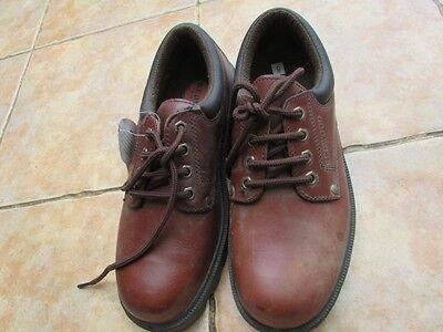 Zapato puntera de acero para hombre Talla 8