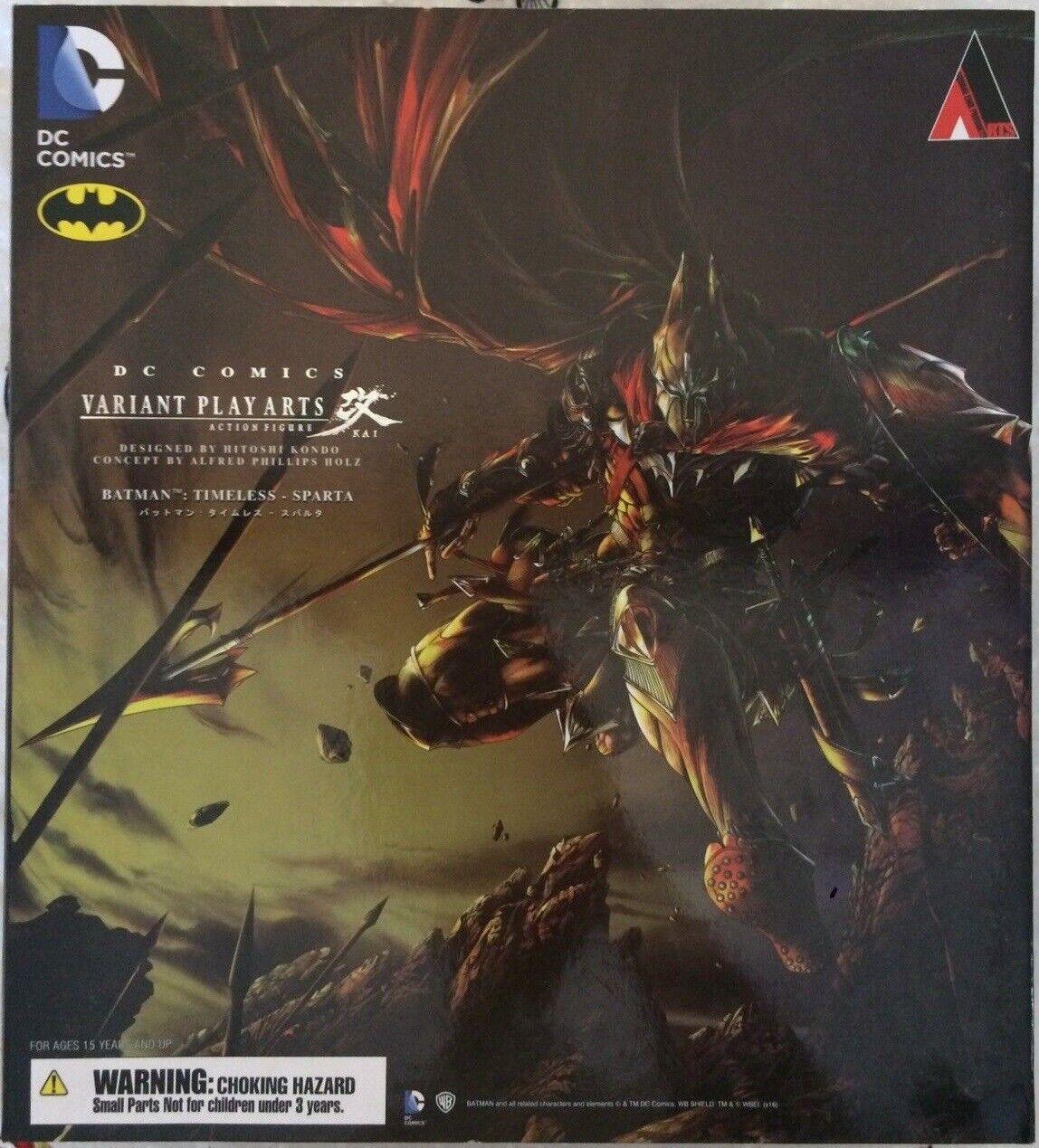 Play Arts Kai DC Batman Timeless Spart Action Figure SQUARE ENIX Authentique