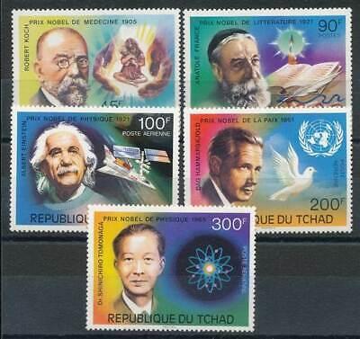 235384) Tschad Nr.763-7** Nobelpreisträger