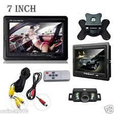 "7"" Car Rearview monitor rearview backup camera system TFT LCD Screen Nightvision"