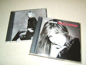 BARBRA-STREISAND-TILL-I-LOVED-YOU-amp-THE-ESSENTIAL-2-x-CD-ALBUMS