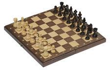 goki Schach Schachbrett Figuren magnetisch aus Holz 28 x 28 cm NEU