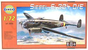 SMER-Siebel-Si204-D-E-Flugzeug-Luftwaffe-Deutschland-Bausatz-0935-1-72