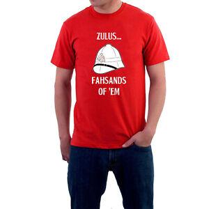 BARGAIN-OFFER-Zulu-T-shirt-Zulus-Fahsands-Rorke-039-s-Drift-Tee-Mens-Medium