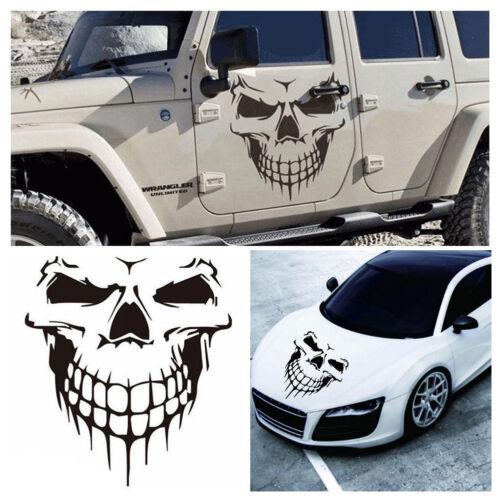 Funny Car Stickers Decals Skull Skeleton Car Door Sticker For Car Truck Window