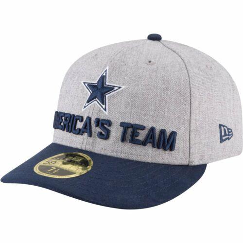 NFL DRAFT Dallas Cowboys New Era 59Fifty Low Profile Cap