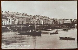 Kerr Street Portrush Postcard Co Antrim Northern Ireland & Vintage Boats