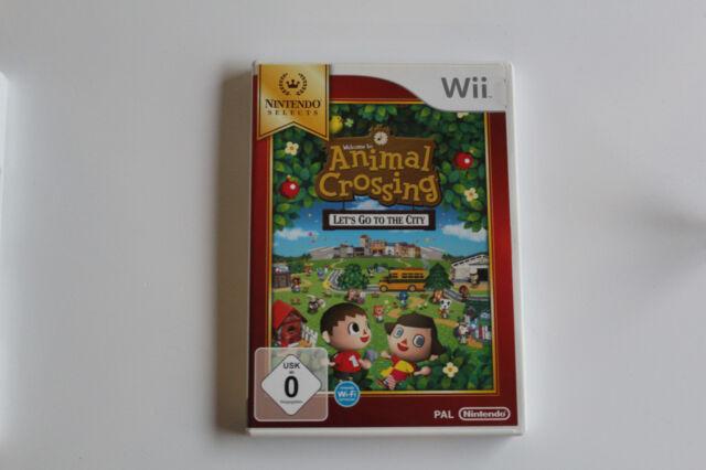 Nintendo Wii Wii U Spiel Animal Crossing: Let's Go to the City