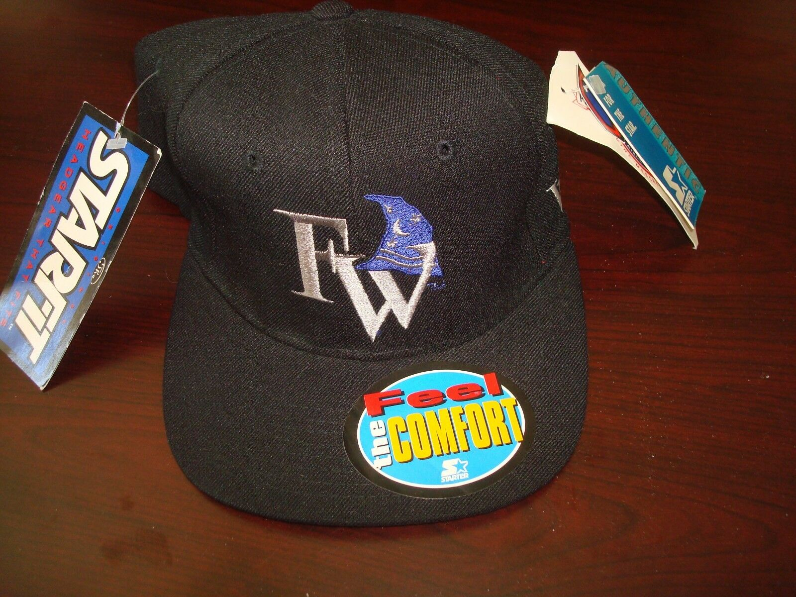 FORT WAYNE WIZARDS MINOR LEAGUE STARTER  SZ 6 5/8 1990S TO 7 1/8 1990S 5/8 VINTAGE HAT CAP 91a0ea