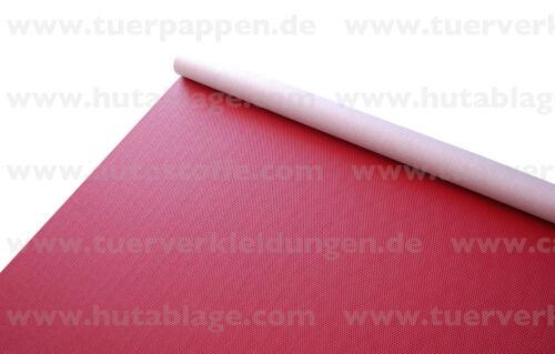Porsche Kunstleder Flechtnarbe rot rouge red rosso rojo Meterware 914 911 912 RS