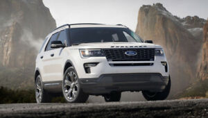 2018 Ford Explorer Sport. Payment take over.