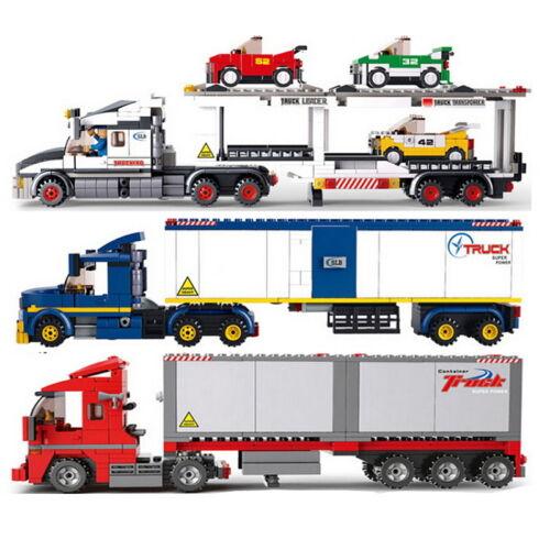 Bon Jouet enfant-Heavy truck-Camion lourd-Transport Serie-3 Models-Fun Toys