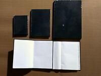 Hardback Notebook Ruled- A/z Indexed A6 A5 A4 BNIP  Note Book
