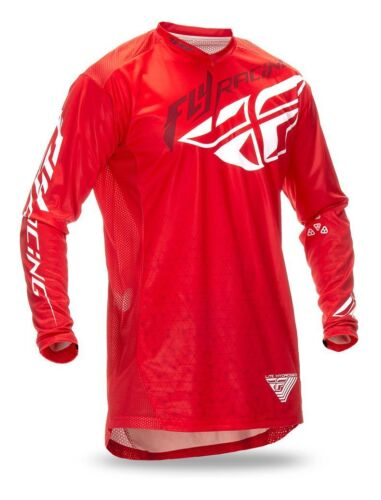 FLY motocross LITE HYDROGEN jersey MENS 2XL EXTRA EXTRA LARGE 369-7222X red