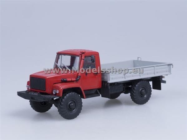 GAZ-33081 4x4 (rojo gris) 1 43 AI1012 AI1012 AI1012 9ce749