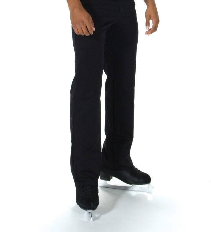 New Ice Skating JERRY'S MENS FLAT FRONT SKATING PANTS MADE ORDER 3 WKS FAB-805