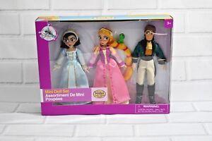 Disney Store Rapunzel Cassandra Eugene Mini Doll Set Tangled The Series New Ebay