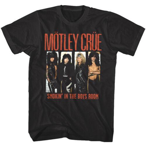 Motley Flood Smokin dans la chambre d/'enfant Homme T shirt chanson UNIQUE COVER Heavy Metal