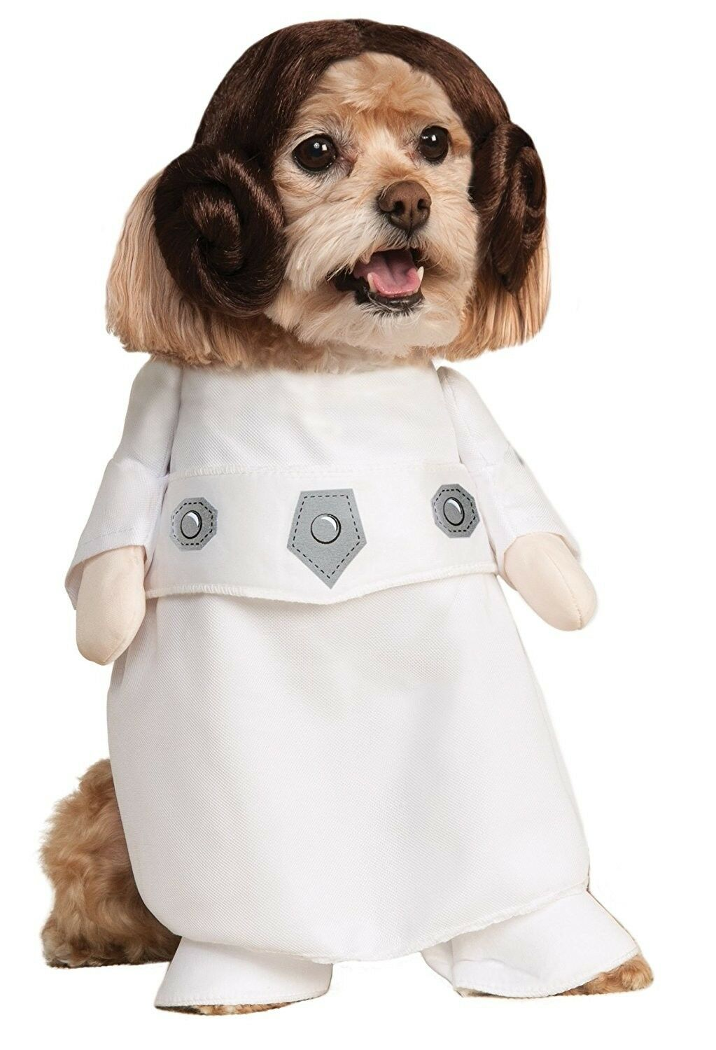 Rubies Costume Star Wars Collection Pet Costume, Princess Leia, Large