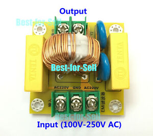 Details about EMI High Frequency Noise Suppression Filter Module 4A Power  Filter Board Socket