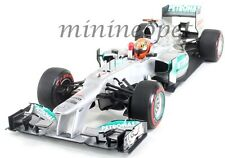 MINICHAMPS F1 MERCEDES AMG PETRONAS W03 MONACO GP 2012 1/18 MICHAEL SCHUMACHER