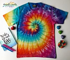 Rainbow-Tie-Dye-hippie-rave-festival-t-shirt-bright-colours-dyed-in-Australia
