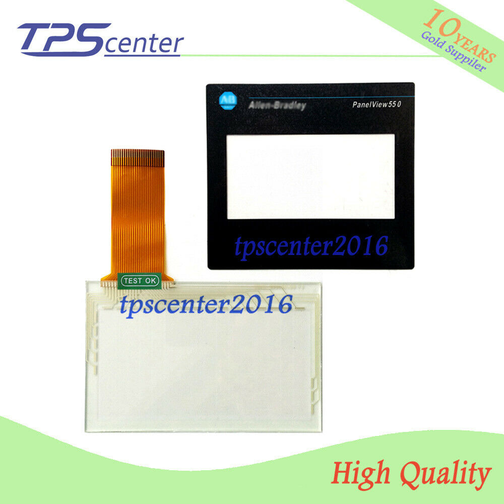 Touch screen panel for AB 2711-T5A5L1 PanelView Standard 550 with Front overlay