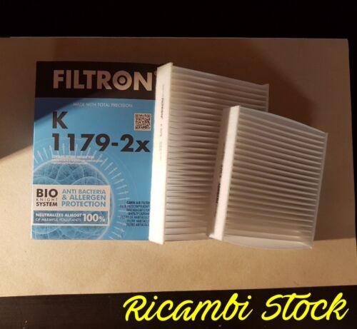 FILTRO ABITACOLO CITROEN DS3 NUOVO E ORIGINALE FILTRON K1179-2X