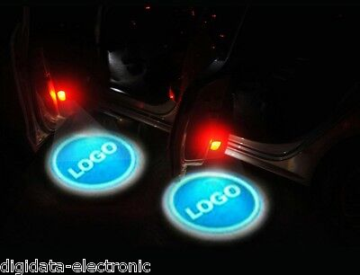 4 X Latest 5th Gen LED Car door laser Projector light For Multi-logo Mix Order