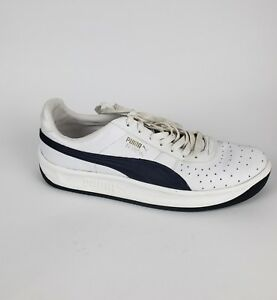 955e95c647d Puma GV Special Mens Size 11 White Navy Leather Casual Lace Up ...