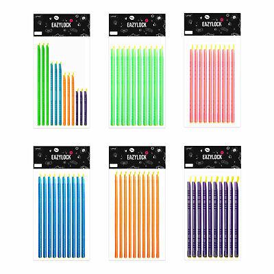 bunte Verschluss-Klammern Tütenklammern für Gefrier-Beutel 40 Tütenclips
