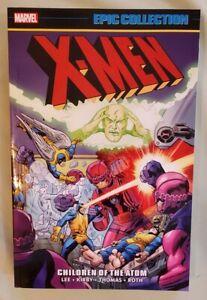 X-men Epic Collection New Vol 1 Children Of The Atom Tpb Tp Marvel RARE OOP