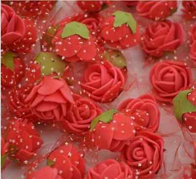Hochzeitsdekoration Besorgt 50 Minirosen Schaumrosen Streublüten Rosenköpfe Rot Hochzeit Elegantes Und Robustes Paket