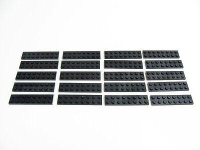 PART 3034 BLACK 2 x 8 PLATES x 8