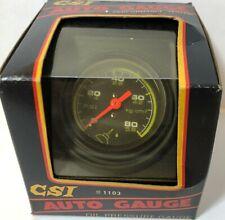 Csi Auto Gauge 1103 Oil Pressure Gauge Complete