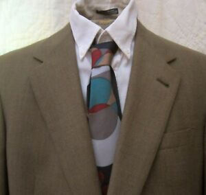 New Worsted Wool 435 Sport Coat By Austin Reed Light Brown Ebay