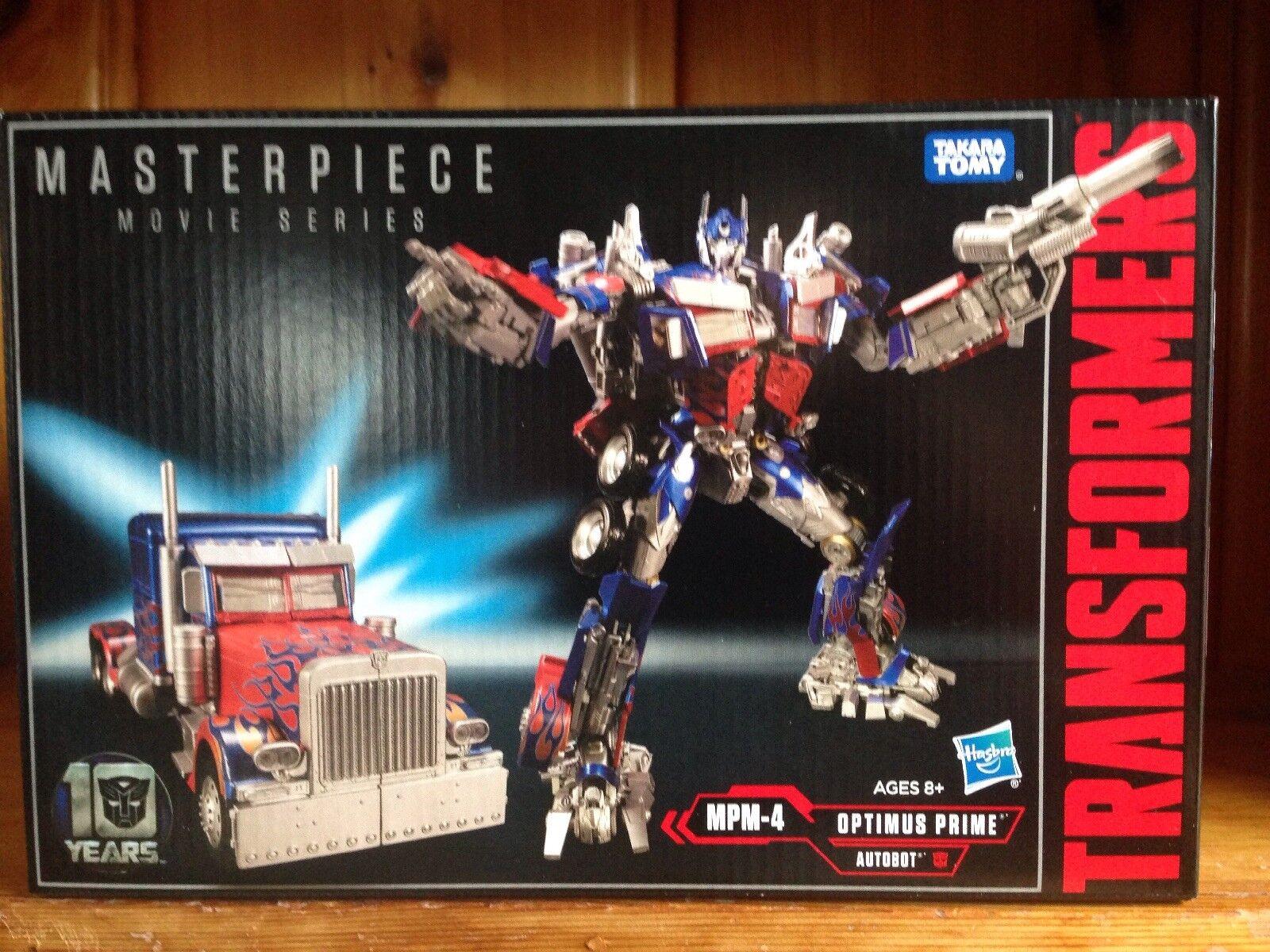 Takara Hasbro Transformers Movie Masterpiece MPM-4 Optimus Prime MISB