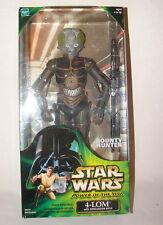 "Star Wars 12"" Collectors series 4-LOM bounty Hunter  POTJ  MISB ESB E V    1014"