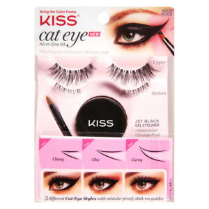 7a40f1d6d11 Kiss Cat Eye All-in-One Total Kit - 3 Different Styles | eBay