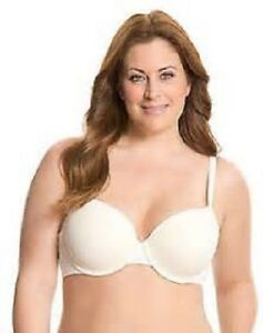 8d47df8acc785 Lane Bryant Cacique Smooth Full Coverage Bra Molded Cup Ivory Size ...