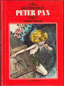 LIBRO-Peter-Pan-PRIMA-EDIZIONE-INTEGRALE-MOLTO-RARA-ILLUSTRATO-Barrie