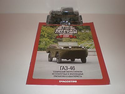 1:24 GAZ 46 Militär Hachette #53 DDR NVA CA Warschauer Pakt MAW Russian Ford GPA