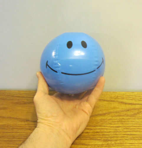 """36 NEW MINI SMILE FACE BEACH BALLS 7/"""" INFLATABLE POOL BEACHBALL PARTY FAVORS"""